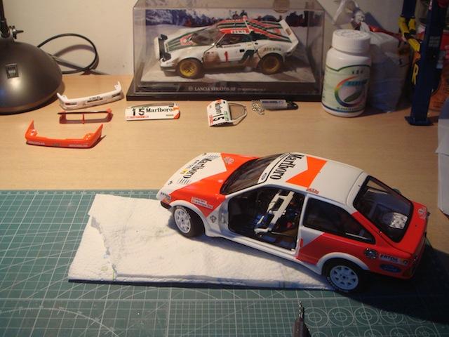 Ford Sierra Cosworth 1/18, 1988 Rally Portugal, #15 Carlos Sainz DSC08231
