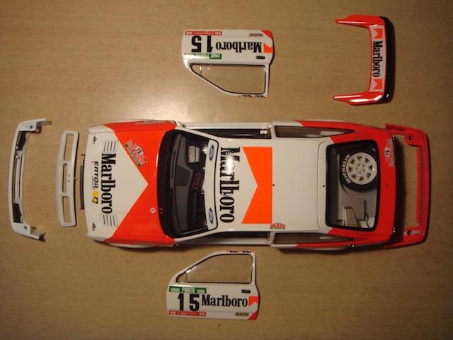 Ford Sierra Cosworth 1/18, 1988 Rally Portugal, #15 Carlos Sainz DSC08233