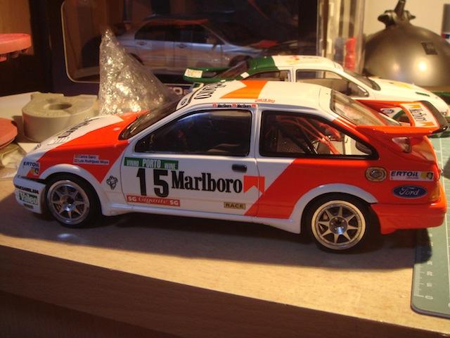 Ford Sierra Cosworth 1/18, 1988 Rally Portugal, #15 Carlos Sainz DSC08247