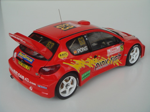 Peugeot 206 WRC, 2005 Monte Carlo Rally #63, Xavier Pons DSC08328