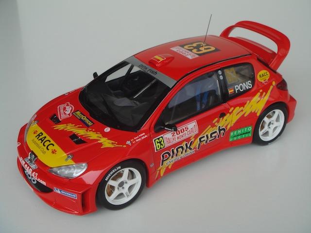 Peugeot 206 WRC, 2005 Monte Carlo Rally #63, Xavier Pons DSC08329