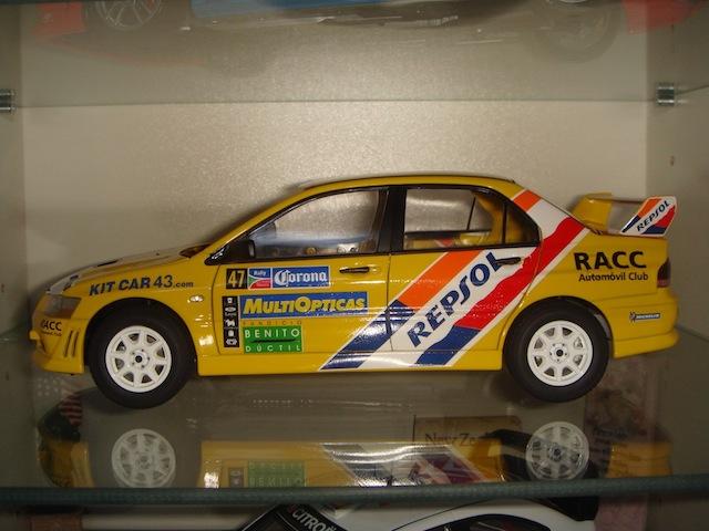 Mitsubishi Evo7 Gp N, Xavier Pons, Rally Mexico 2004, 1/18 DSC08382-1
