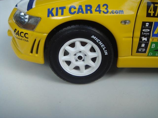 Mitsubishi Evo7 Gp N, Xavier Pons, Rally Mexico 2004, 1/18 DSC08670