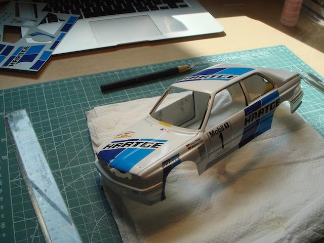 Hartge BMW E30 Group A, 1988 Rally Deutschland, 1/18 DSC08763