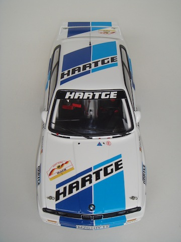 Hartge BMW E30 Group A, 1988 Rally Deutschland, 1/18 DSC08809