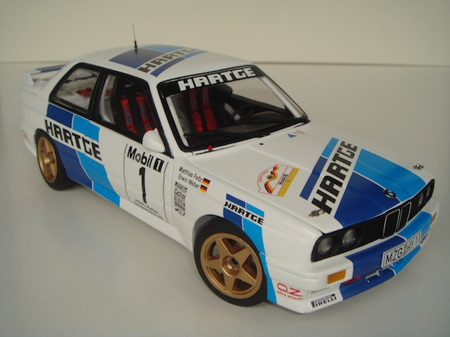 Hartge BMW E30 Group A, 1988 Rally Deutschland, 1/18 DSC08815