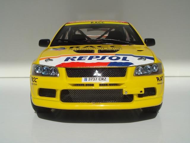 Mitsubishi Evo7 Gp N, Xavier Pons, Rally Mexico 2004, 1/18 DSC08848