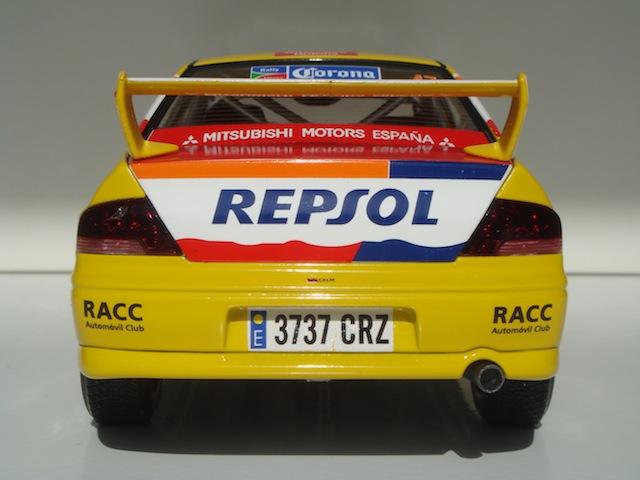 Mitsubishi Evo7 Gp N, Xavier Pons, Rally Mexico 2004, 1/18 DSC08850