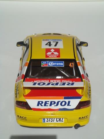 Mitsubishi Evo7 Gp N, Xavier Pons, Rally Mexico 2004, 1/18 DSC08851