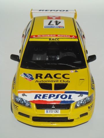 Mitsubishi Evo7 Gp N, Xavier Pons, Rally Mexico 2004, 1/18 DSC08852