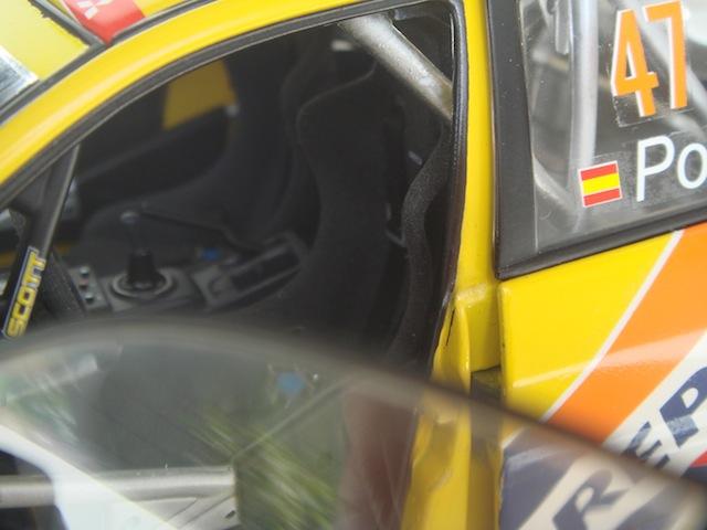 Mitsubishi Evo7 Gp N, Xavier Pons, Rally Mexico 2004, 1/18 DSC08856