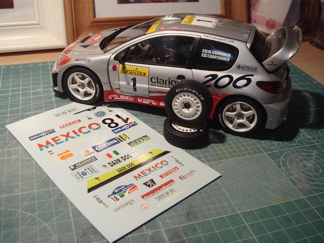 1/18, AA Peugeot 206 WRC, 2005 Mexico Rally, Ricardo Trivino DSC08908
