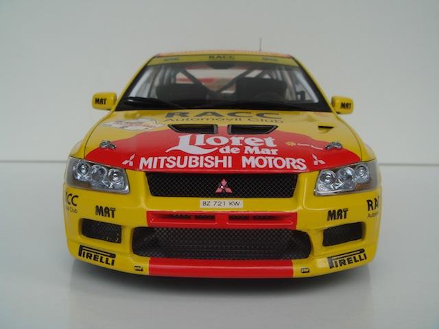 Mitsubishi Evo7 Gp N, Dani Sola, Rally Deutschland 2003, 1/18 AA DSC09057_zps1bda2159