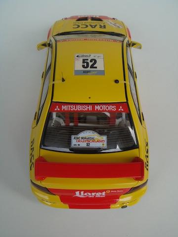 Mitsubishi Evo7 Gp N, Dani Sola, Rally Deutschland 2003, 1/18 AA DSC09059_zps08603741