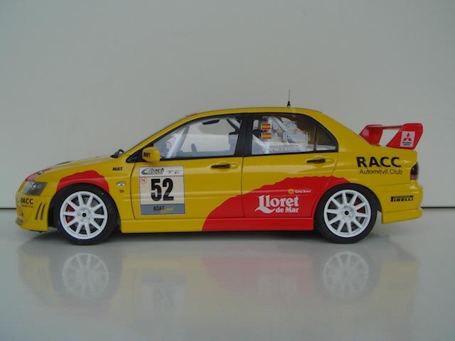 Mitsubishi Evo7 Gp N, Dani Sola, Rally Deutschland 2003, 1/18 AA DSC09060_zps3d739936