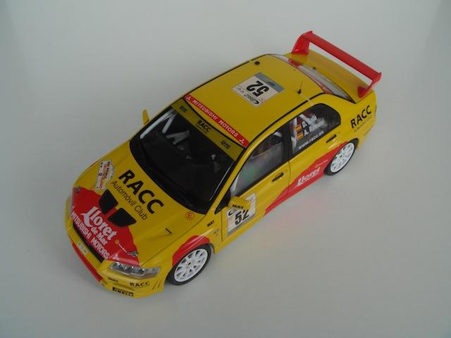 Mitsubishi Evo7 Gp N, Dani Sola, Rally Deutschland 2003, 1/18 AA DSC09062_zps1e8902aa