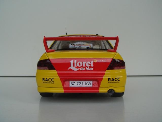 Mitsubishi Evo7 Gp N, Dani Sola, Rally Deutschland 2003, 1/18 AA DSC09063_zps8c1c2753