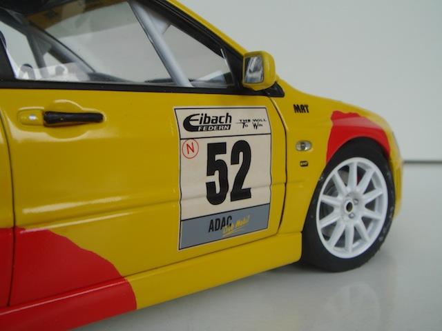 Mitsubishi Evo7 Gp N, Dani Sola, Rally Deutschland 2003, 1/18 AA DSC09065_zpse575c82e