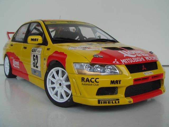 Mitsubishi Evo7 Gp N, Dani Sola, Rally Deutschland 2003, 1/18 AA DSC09066_zpsa62ca463