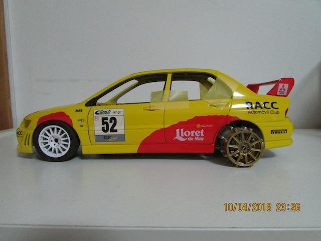 Mitsubishi Evo7 Gp N, Dani Sola, Rally Deutschland 2003, 1/18 AA IMG_0072_zpscf792d64