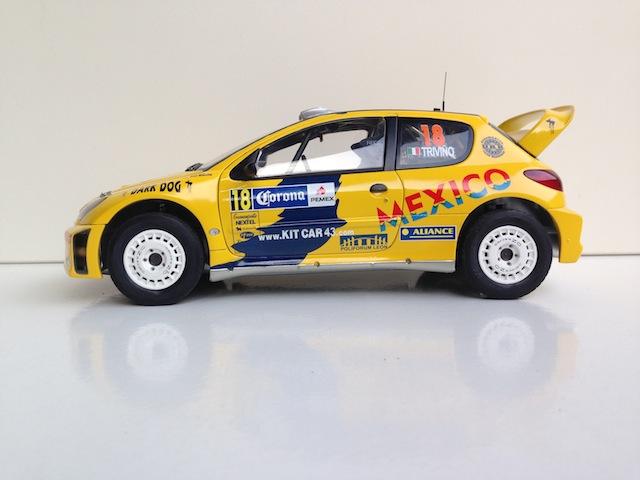 1/18, AA Peugeot 206 WRC, 2005 Mexico Rally, Ricardo Trivino IMG_0415_zps46407fd4