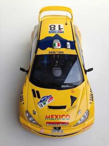 1/18, AA Peugeot 206 WRC, 2005 Mexico Rally, Ricardo Trivino IMG_0416_zps52c8f59e