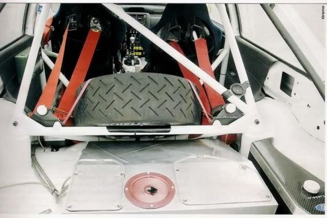 Ford Escort Cosworth, 1994 Ypres Rally, Patrick Snijers Internoposterioreescortgrace