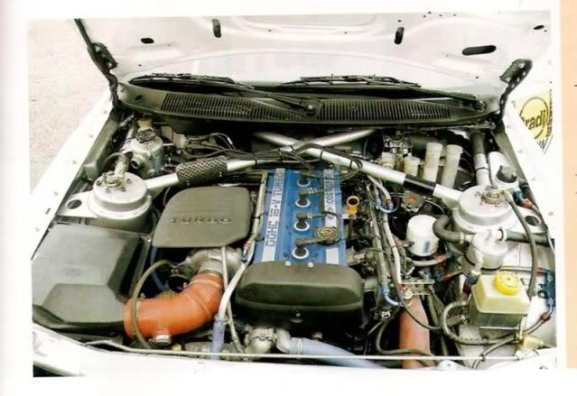 Ford Escort Cosworth, 1994 Ypres Rally, Patrick Snijers Motorerescortdelecourgrace