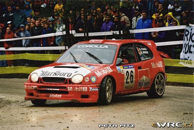Toyota Corolla WRC, 2000 Rally Catalunya, Serkan Yazici, Smoking Kills, 1/18 SerkanYaziciCatalunya2000copy
