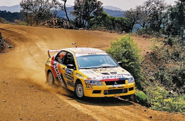 Mitsubishi Evo7 Gp N, Xavier Pons, Rally Mexico 2004, 1/18 XavierPonsMexico2004