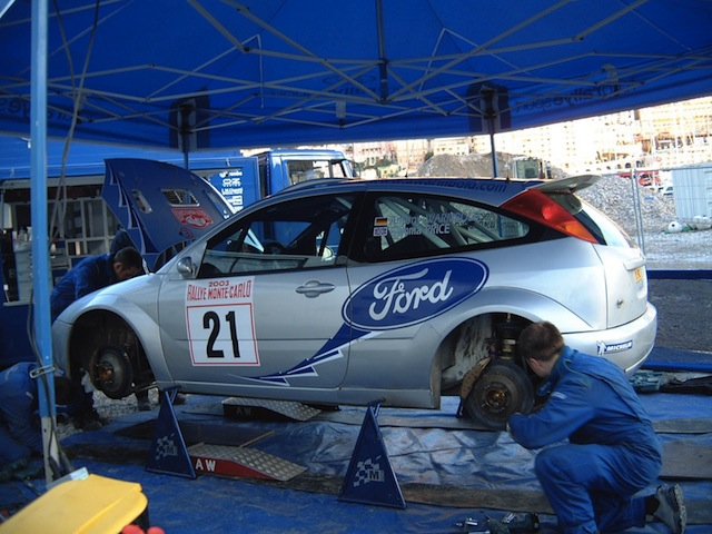 Ford Focus WRC, 2003 Rally Monte Carlo, #21 Antony Warmbold F22374336