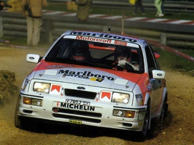 Ford Sierra Cosworth 1/18, 1988 Rally Portugal, #15 Carlos Sainz Fordsierrarscosworthsaifr8