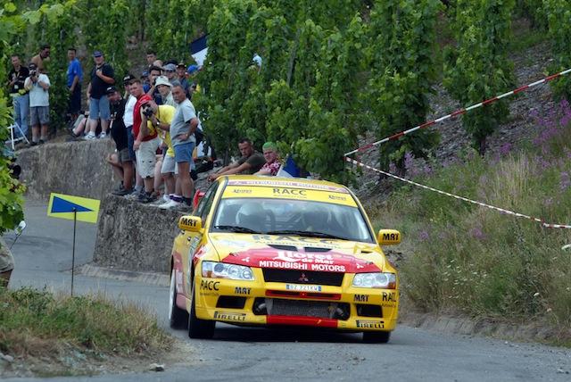 Mitsubishi Evo7 Gp N, Dani Sola, Rally Deutschland 2003, 1/18 AA L1_3_zpsdfa348a9