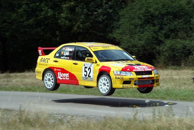 Mitsubishi Evo7 Gp N, Dani Sola, Rally Deutschland 2003, 1/18 AA L2_3_zps7764150d
