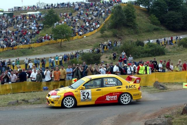 Mitsubishi Evo7 Gp N, Dani Sola, Rally Deutschland 2003, 1/18 AA L3_3_zps71c27ff5