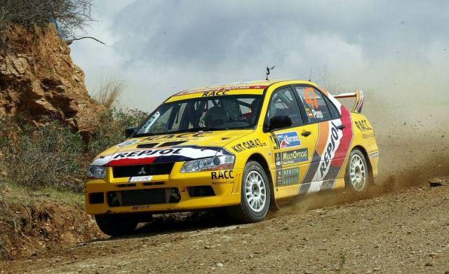 Mitsubishi Evo7 Gp N, Xavier Pons, Rally Mexico 2004, 1/18 Ot_a_15_pons_1