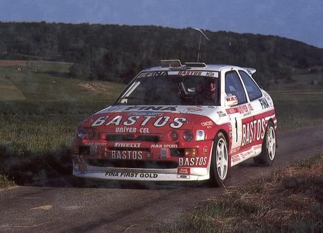 Ford Escort Cosworth, 1994 Ypres Rally, Patrick Snijers Psnijersgi31