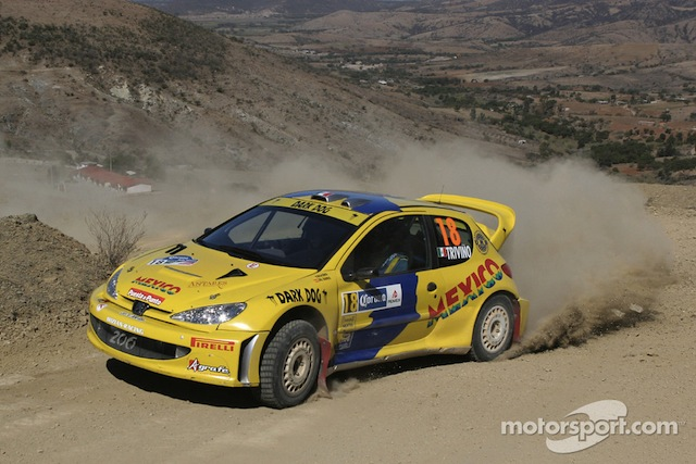 1/18, AA Peugeot 206 WRC, 2005 Mexico Rally, Ricardo Trivino S1_1_zps340a6f09