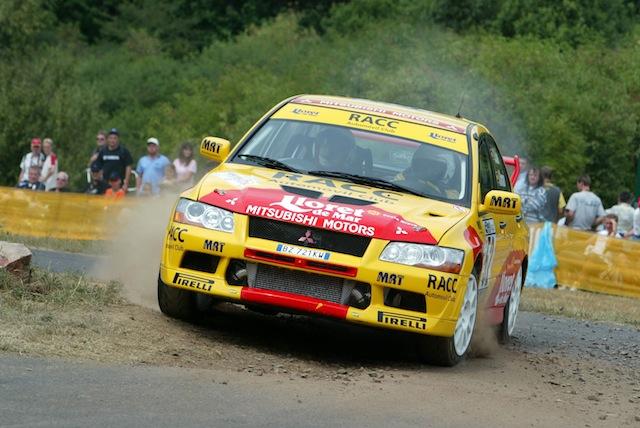 Mitsubishi Evo7 Gp N, Dani Sola, Rally Deutschland 2003, 1/18 AA Sd1_zps9de1dd58