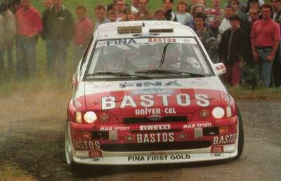 Ford Escort Cosworth, 1994 Ypres Rally, Patrick Snijers Snijers