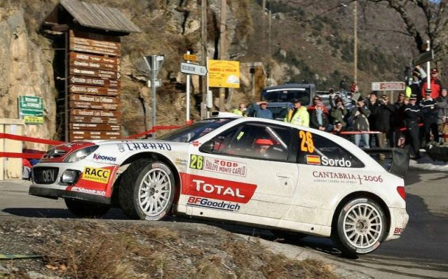 Citroen Xsara WRC, 2006 Monte Carlo Rally #26, Dani Sordo Sordo_1
