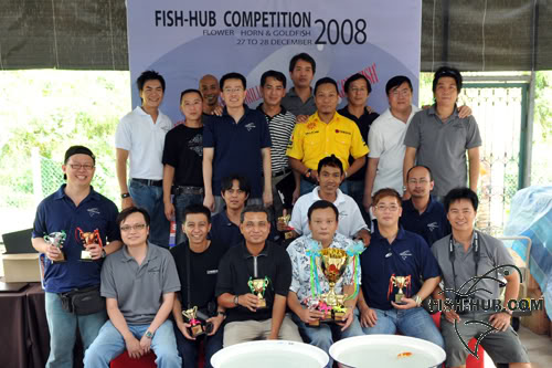Fish-Hub Competition 2008 - Flower Horn & Goldfish Fhgroup