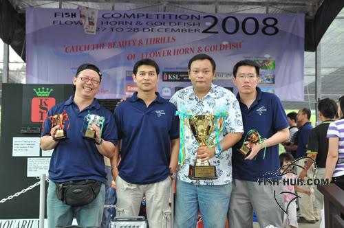 Fish-Hub Competition 2008 - Flower Horn & Goldfish Fhgroup2