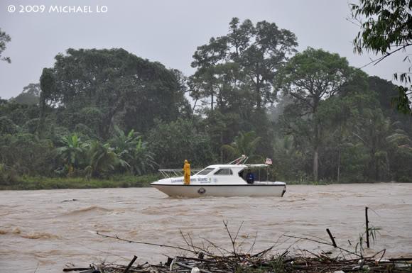 Inondation Sarawak  (Bornéo) Flood14-swk290109