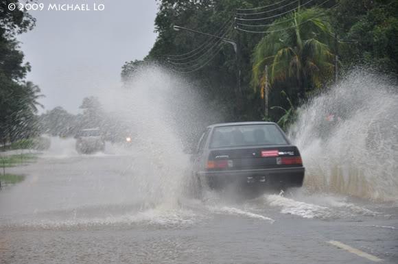 Inondation Sarawak  (Bornéo) Flood7-swk290109