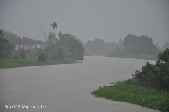 Inondation Sarawak  (Bornéo) Flood9-swk290109
