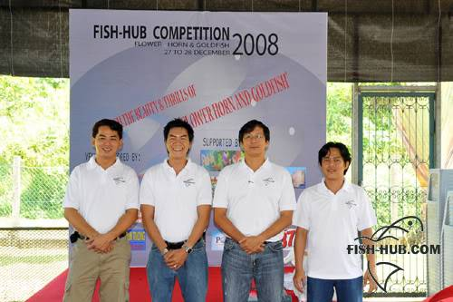 Fish-Hub Competition 2008 - Flower Horn & Goldfish Judge5