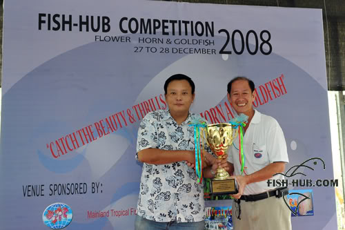 Fish-Hub Competition 2008 - Flower Horn & Goldfish Prize13