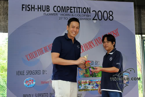 Fish-Hub Competition 2008 - Flower Horn & Goldfish Prize6