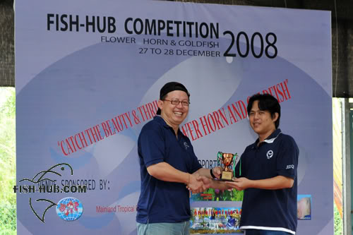 Fish-Hub Competition 2008 - Flower Horn & Goldfish Prize7